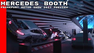 Mercedes Booth At Frankfurt Motor Show 2017 Preview
