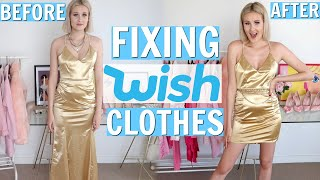FIXING WISH CLOTHES...YOU GUYS WANTED THIS! DIY WISH CLOTHES