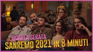 The Jackal - SANREMO 2021 in 8 minuti - Quarta Serata