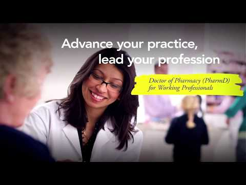 Memorial University's PharmD for Working Professionals
