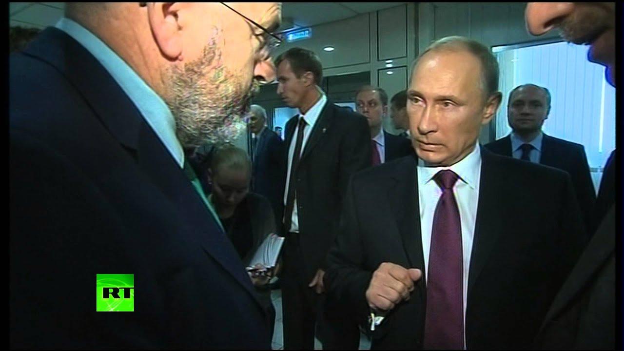 Владимир Путин объяснил напористому корреспонденту BBC суть трагедии на юго-востоке Украины