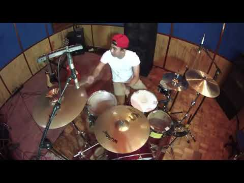 Drum cover via vallen Mantap👍