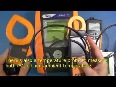HT Instruments Solar I-V and PV Check Review - Pt1