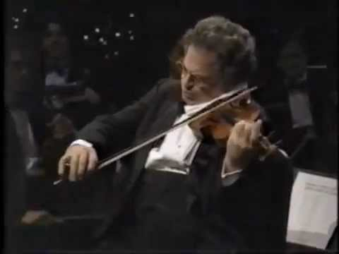 Itzhak Perlman plays Schuberts serenade accompanied  Rohan de Silva on the piano