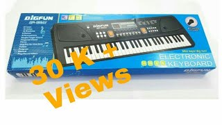 61 keys piano review & unboxing By Technical Pareek | ultra HD 4K 2160p