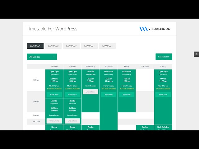 How To Start with Timetable Responsive Schedule WordPress Plugin?