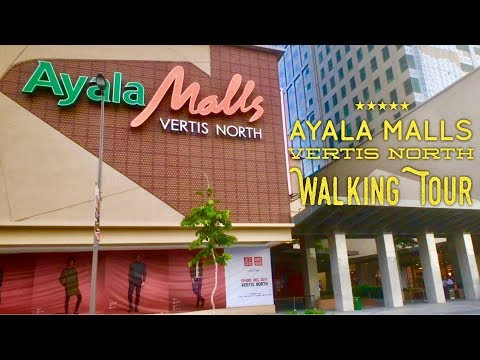 Ayala Malls Vertis North Walking Tour Quezon City Now Open! by HourPhilippines.com