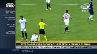 Resumen y goles Espanyol 1-1 Sevilla
