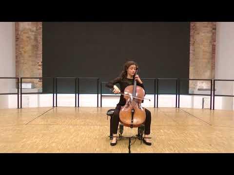 Anastasia Kobekina Bach Suite 6 Prelude