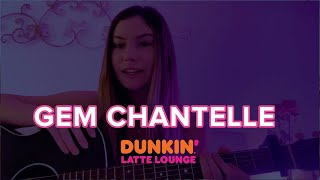 Gem Chantelle Performs At The Dunkin Latte Lounge