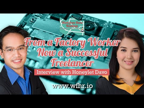 🔴 From a Factory Worker now a Successful Freelancer | Honeylet Davo | JasSuccess 010