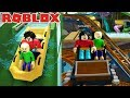 TONS OF RIDES IN BALDI'S FIELD TRIP TO AN AMAZING WATER PARK AND THEME PARK!! | Roblox