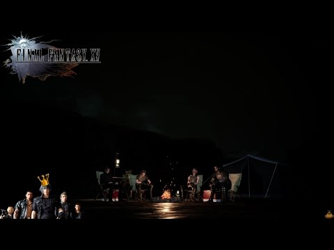 Final Fantasy XV (PS4) - Campfire Reunion (Post Game/Credit