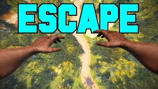 ESCAPING from my ANGRY NEIGHBORS! - Rust Solo Survival Part 2