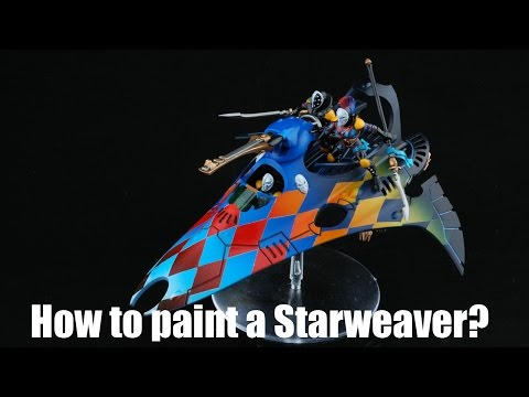 How to paint a Harlequin Starweaver?