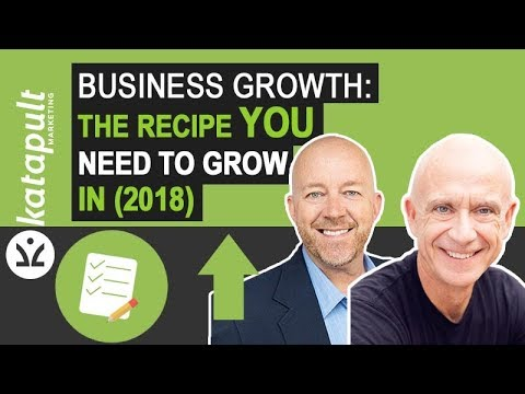 Business Growth: The Recipe YOU Need to grow in (2018) with Walt Hampton