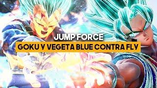 JUMP FORCE: ASÍ son GOKU BLUE y VEGETA BLUE