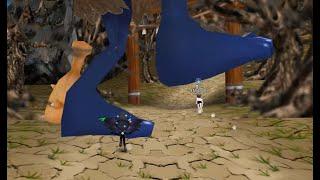 테일즈런너 거대한 도깨비 발 (만우절 동화맵)