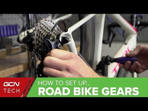 How To Set Up & Index Road Bike Gears | Road Bike Maintenance
