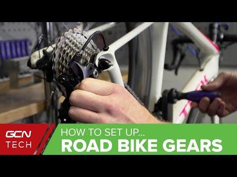 How To Set Up & Index Road Bike Gears | Road Bike Maintenance
