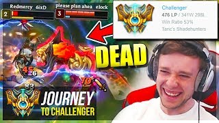 I'M DESTROYING CHALLENGERS NOW?????????? - Journey To Challenger   League of Legends