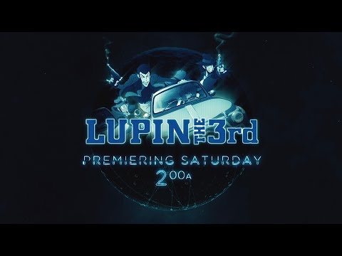 Toonami - Lupin The Third Promo (HD 1080p)