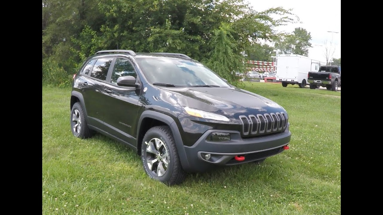 2016 jeep cherokee trailhawk 4x4 18054 youtube. Black Bedroom Furniture Sets. Home Design Ideas