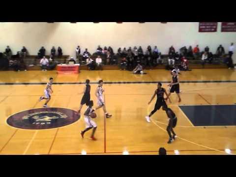 5'9 Alijah Rue Nobles Junior year basketball highlights