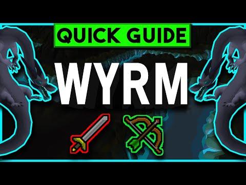 OSRS Wyrm Slayer Guide 07 - Karuulm Slayer Dungeon - Range & Melee Setups - JANUARY 2019