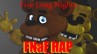 "[FNAF SFM SONG]""Five Long Nights"" by JT Machinima"