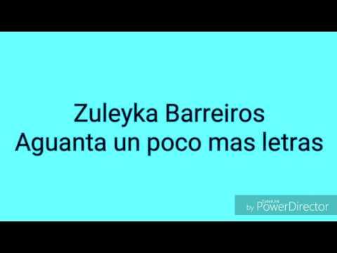 Zuleyka Barreiros- Aguanta un poco mas (con letras)