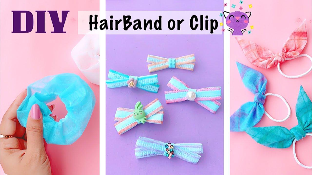 DIY Tic Tac Clip | Homemade Hair Clip Decorations | Hair Accessories Making at home