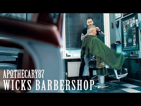 Apothecary 87 x Wicks Barbershop