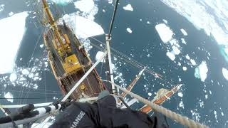 Climbing the Rigging in Antarctica