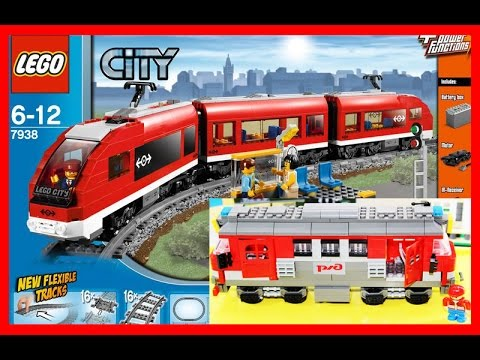 Lego Train Building#1 Toys VIDEO FOR CHILDREN - YouTube