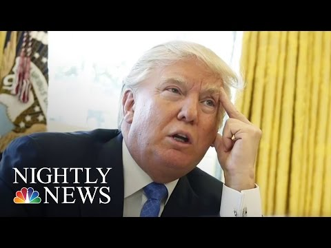 Pres. Donald Trump Backs Down From Border Wall Funding Requirement | NBC Nightly News