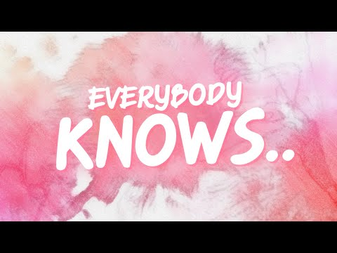 JOWST - Everybody Knows.. (Official Lyric Video)