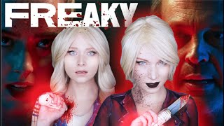 It's Friday and it's Time to Get FREAKY!   Body Swap Makeup Transformation