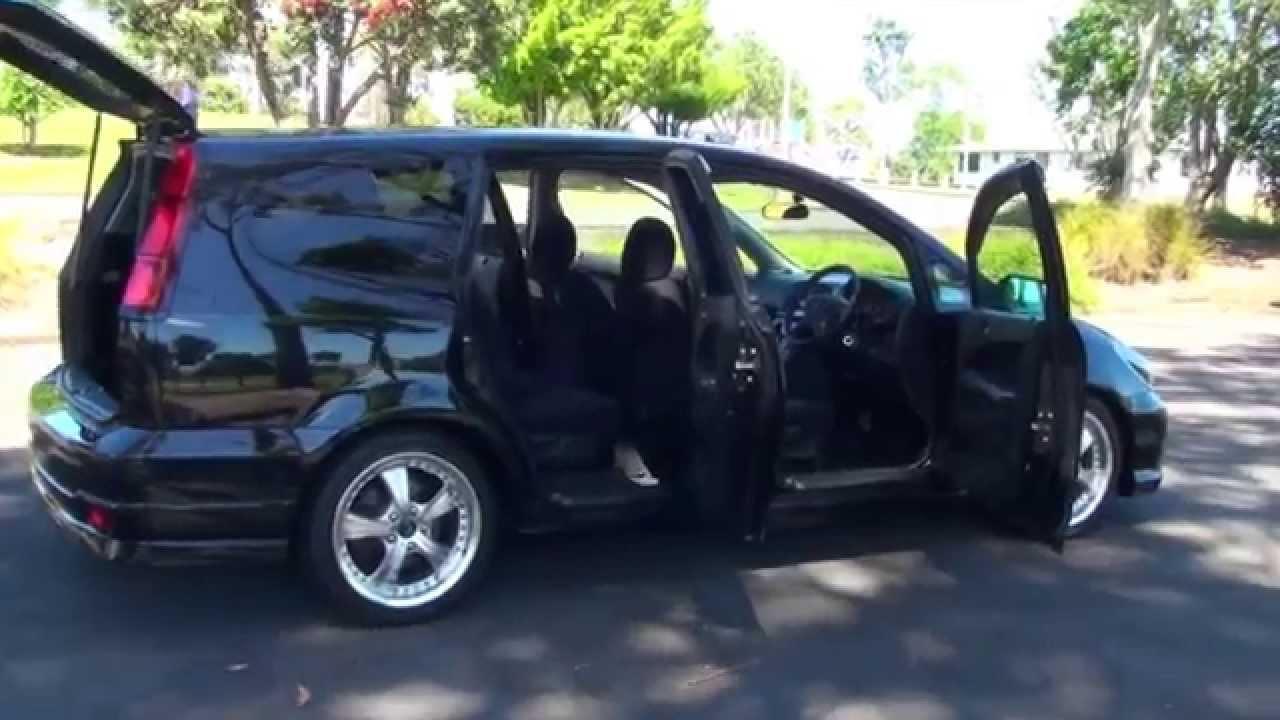 Honda Stream Absolute 2005 Black 20L Auto  YouTube