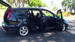 Honda Stream Absolute 2005 Black 2.0L Auto thumbnail