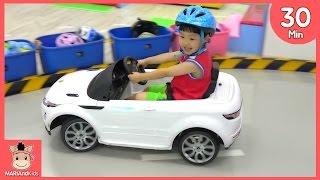 키즈 카페 편백 나무 뽀로로 애슬론 장난감 친구들 놀이 ♡ 어린이 차타타 테마파크 Kids Cafe Indoor Family Fun Play | 말이야와아이들 MariAndKids