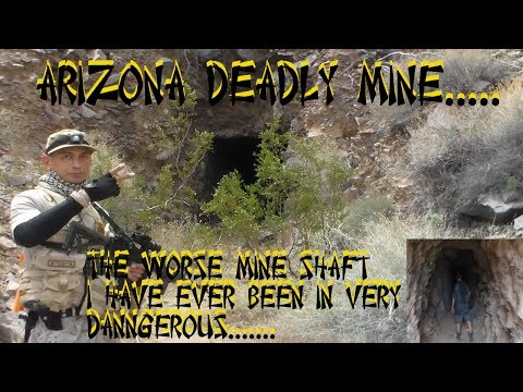 AZ MINE SHAFT EXPLORING''WORSE MINE SHAFT IV EVER BEEN IN''