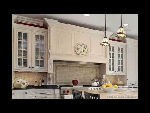 Wooden kitchen hood designs