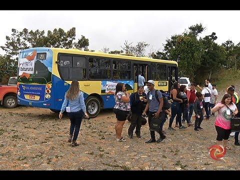 VALADARES: Inaugurada linha de ônibus até o Pico da Ibituruna