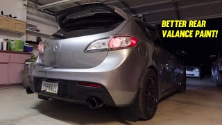 How to Plastidip a rear bumper, correctly!