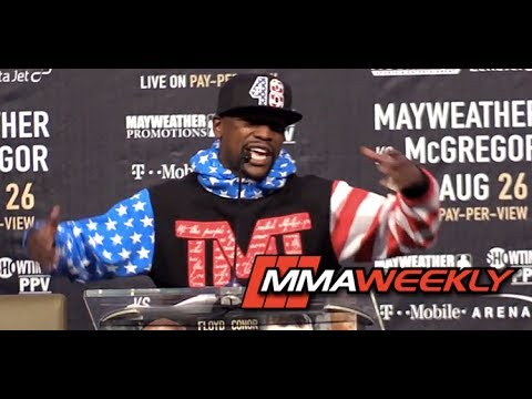 Floyd Mayweather: 'Mr. Tapout Like To Quit' Conor McGregor Will Wave the White Flag (FULL)