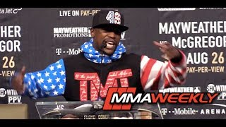 """Floyd Mayweather: """"Mr. Tapout Like To Quit"""" Conor McGregor Will Wave the White Flag (FULL)"""