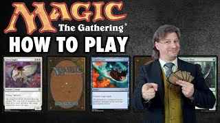 How To Play Magic: Tнe Gathering (MTG) Learn To Play In About 15 Minutes!