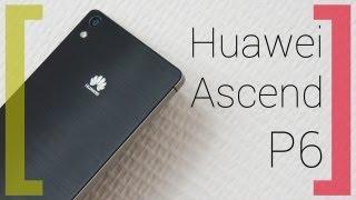 Huawei Ascend P6: самый тонкий в мире