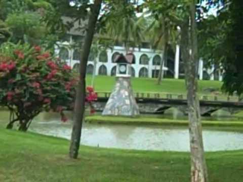 Bangpra Golf course, Pattaya, Thailand.
